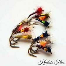 Mixed Set of Lightweight Buzzers size 14 (Set of 9) Fly Fishing Flies