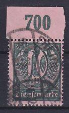 DR Dienst Mi Nr. 68 a POR, rund gest. Freiburg, Dienstmarken Dt. Reich, used