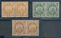 Bolivia  LOT Sc 40 42 43 Pairs Thin Paper 74 Specimen and PAIR  LAVEL PATRIA FVF