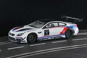 Racer Sideways BMW M6 GT3 Presentation, Frankfurt SWCAR03A 1/32 Slot Car