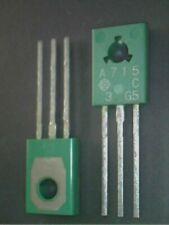 2SA715 A715 (C) original Hitachi PNP transistor NOS
