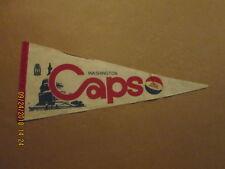 ABA Washington Caps Vintage Defunct Circa 1969-70 Logo Basketball Pennant