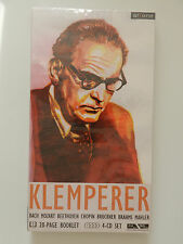 4 CD Klemperer Bach Mozart Beethoven Chopin Bruckner Brahms Neu originalverpackt