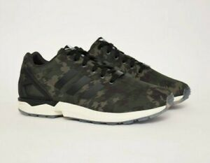 adidas ZX Flux Camouflage Sneakers for Men for Sale   Authenticity ...