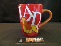 Lady & the Tramp mug coffee cup mug Disney Store Authentic