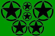 6x US ARMY étoile Autocollants Pour Voiture Fun USA Sticker Pour Tuning