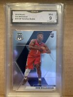2019 Mosaic Zion Williamson Photo Variation Rookie #209 Graded Mint 9 GMA
