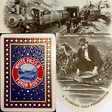 c1902 Railroad Locomotive Railway Yukon Playing Card Train High Grade Deck 54+J