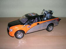Maisto Ford F-150 Pick-Up 1:27 e Harley-Davidson 2000 FLSTF Fat Boy 1:24