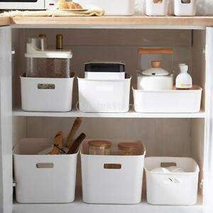 Plastic Box Home Storage Box Organizer Kitchen Hallway Household Accessory