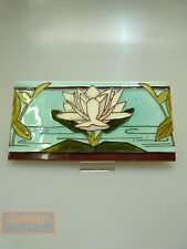 Style Art déco carreau original pour 1900 art nouveau Lily tile Collectible carreaux