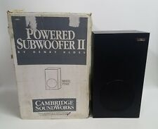 """Cambridge SoundWorks PSW2 Sealed Powered Active Subwoofer II with 7"""" Woofer"""