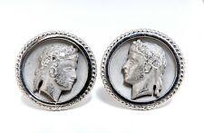 .20ct Natural Diamonds Caesar Iconic Cufflinks 14 Karat