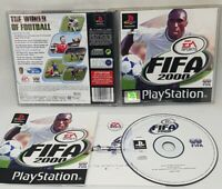 FIFA 2000 ORIGINAL BLACK LABEL SONY  PLAYSTATION PS1 PAL GREAT CONDITION