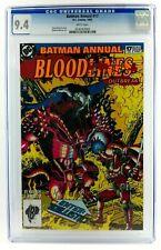BATMAN ANNUAL #17 CGC 9.4 GREEN LANTERN JUSTICE LEAGUE 1993 DC