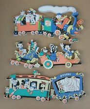 Vintage Wall Hangings Casey Jr. Dumbo Pinocchio Mickey Goofy Donald Duck 1990's
