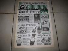 LA VIE COLLECTIONNEUR 184 1997 CP TOUR DE FRANCE ORANGINA MONTRE LIP PRESERVATIF