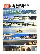 Des Racines et des Ailes Coffret 7 DVD Paris Le Mont St Michel La Corse Avignon