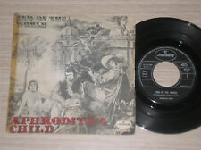 """APHRODITE'S CHILD - END OF THE WORLD / YOU ALWAYS STAND...  - 45 GIRI 7"""" ITALY"""