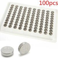 100pcs Cell Watch Battery Batteries  SR626SW AG4 377 LR626 Alkaline Button 1.55V