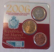 San Marino 2006 Mini Set (5+50+1 Euro) Blister
