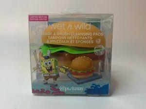 Wet N Wild Spongebob Squarepants Krabby Patty Sponge & Brush Limited Edition