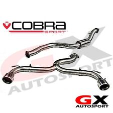 FD24 Cobra Sport Ford Focus ST 225 Mk2 05-11 Cat Back Exhaust (Venom Loud Range)