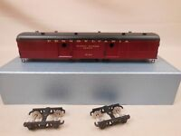 HO SCALE CUSTOM BRASS PS-702 PENNSYLVANIA BAGGAGE EXPRESS CAR PAINTED