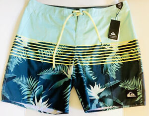 "Quiksilver Men's Everyday Lightning 20"" Boardshort Size 40 Surf Short New XL NWT"