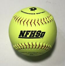 "DeMarini Leather NFHS 12"" Softballs WTALL 12 YNB 44 Cor Certified ASA One Dozen"