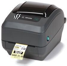 Zebra GK420t Label Thermal Printer USB Ethernet PN: GK42-102220-000