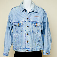 EXCLUSIVELY MERCEDES BENZ Vintage Denim Jacket - SIZE M - Made in USA