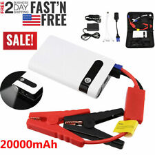 Mini Portable Slim 20000mAh Car Jump Starter Engine Battery Charger Power Bank