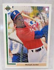 Michael Jordan 1991 Upper Deck #SP1 WHITE SOX Baseball Card