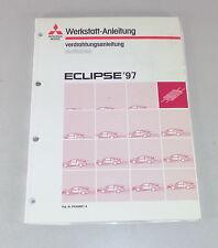 Taller de mano libro mitsubishi eclipse d 30 suplementario sistema eléctrico mapas de carreteras a partir de 1997