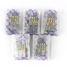 Bag/50pcs Home Sewing Machine Needle 11/75,12/80,14/90,16/100,18/110 Universal