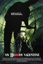 My Bloody Valentine movie poster (a) My Bloody Valentine poster - Horror