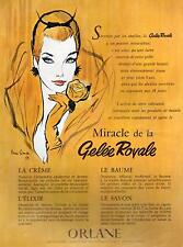 ▬► PUBLICITE ADVERTISING AD ORLANE Maquillage Pierre SIMON gelée royale 60