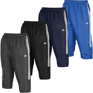 Lonsdale Herren 3/4 Hose Sporthose S M L XL 2XL 3XL Trainingshose Jogginghose