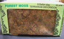 FOREST MOSS - Sphagnum - AMG - Terrarium Decoration - 5 Gallon Size - No. 12720