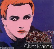 OLIVER MANDIC CD The Best Of Collection 2014 Bobane Hit Balkan Srbija Smejem se