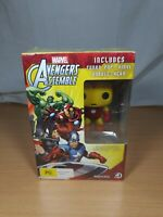 Marvel Avengers Assemble Season One DVD + Iron Man Pop Bobble-Head Figure Funko