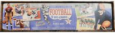 Antique Style 1955 All American Topps Football Card Ad Wood Printed Sign WOW !!