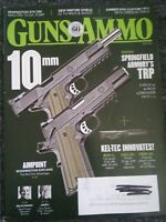 Guns & Ammo Handguns Magazine July 2018 Springfield Armory's TRP, Remington 870