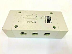 AIRTEC P07520  5/2-Way Pilot Operated Pneumatic Directional Control Valve G1/4