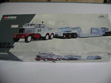 CORGI Heavy Haulage Limited Edition Scammell appaltatore & Low Loader