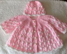 "L@@K HAND KNITTED DOLL'S CLOTHES FOR 17"" - 18"" BABY DOLL (ANNABELL)"