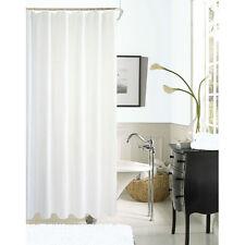 Zella Hotel Waffle Shower Curtain - White