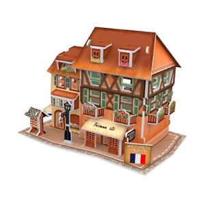 1/24 Scale DIY Dollhouse Miniature Wooden Dolls House Kit Creative Rooms Toy