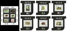 Sao Tome 2020 WWF J.  Fauna on stamps. (315)  Sheet + 6 Blocks